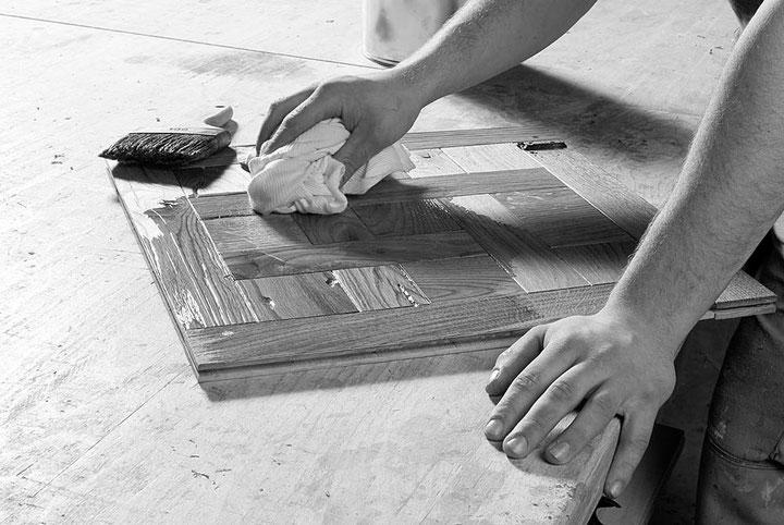 Fendt Holzgestaltung Oberflächenbearbeitung mit hochwertigen natürlichen Ölen