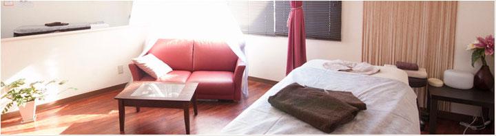 お着替えや施術は完全個室で,他のお客様を気にせずお過ごし頂けます。