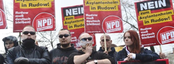 Medlemmer af det tyske naziparti NPD