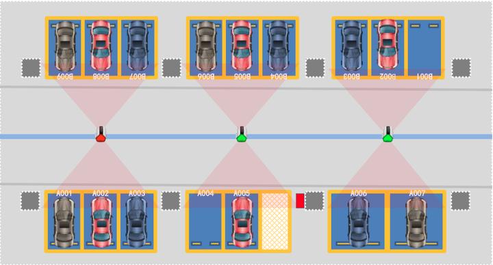 Parkraumleitsystem HIK Vision