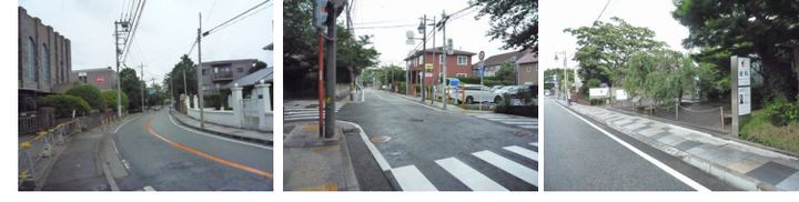 フェリス女学院から横浜山手デンタルクリニックまでの道のり