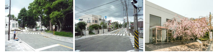 代官坂上交差点 横浜山手デンタルクリニック