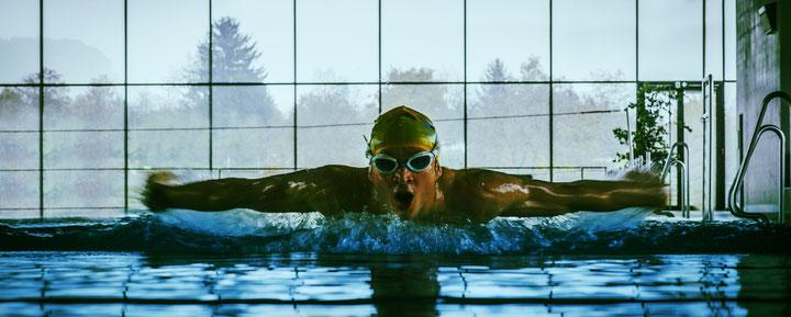 Dominik Sowieja Schwimmen