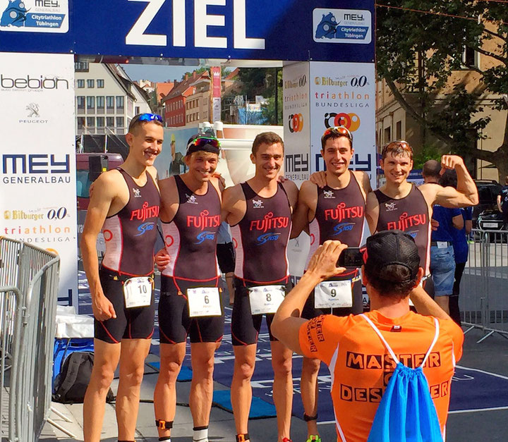 Dominik Sowieja NSU Triathlon Sieger 2.Triathlon Bundesliga