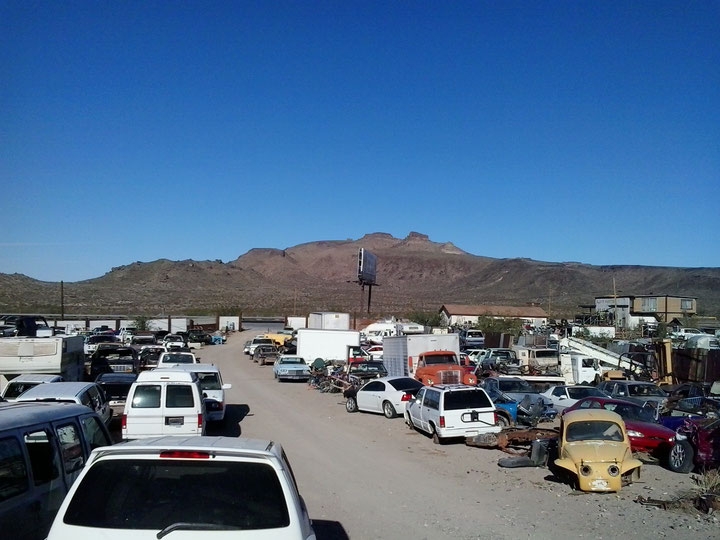 Bild: HDW-USA, Highway, Route 66, Amerka, Mister T. und der Weiße Büffel,