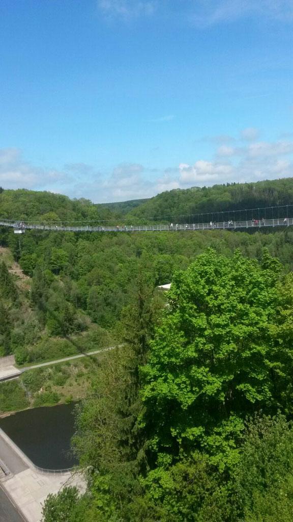 Längste Hängeseilbrücke der Welt