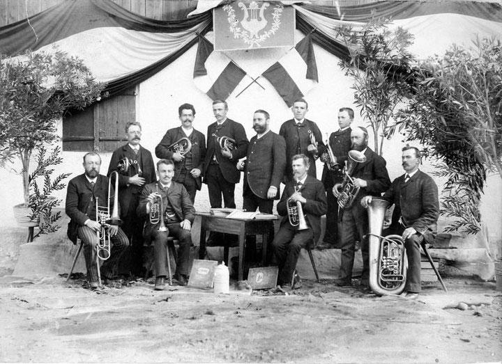 Musikkapelle von 1884 aus Aitrang im Ostallgäu