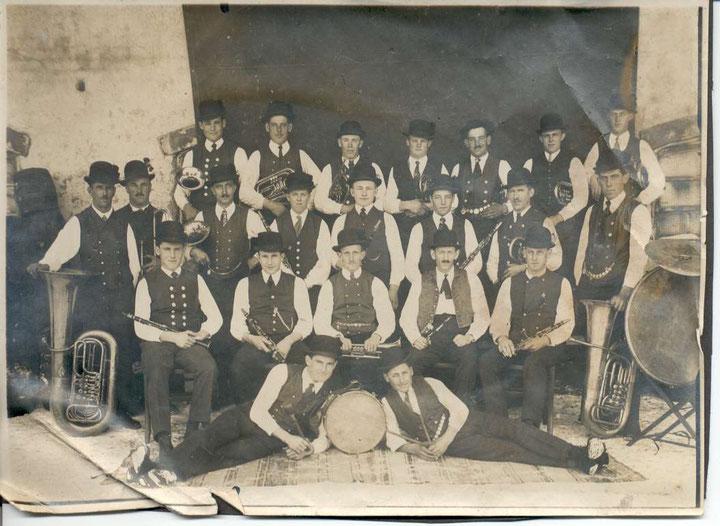 Musikkapelle Aitrang 1928