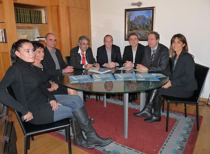 Quelques-uns des acteurs du forum de Porto-Vecchio. (Photo Marilyne Santi)