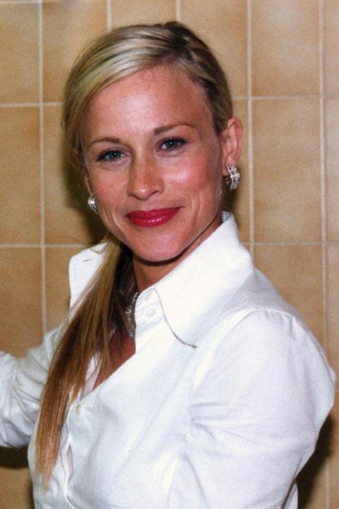 Patricia ARQUETTE - Festival de Cannes 2001 © Anik COUBLE