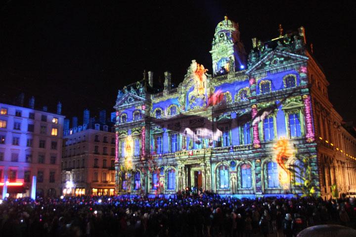 Le Prince des Lumières - Place des Terreaux - Fête des Lumières - Lyon - Déc 2013 - Photos © Anik COUBLE