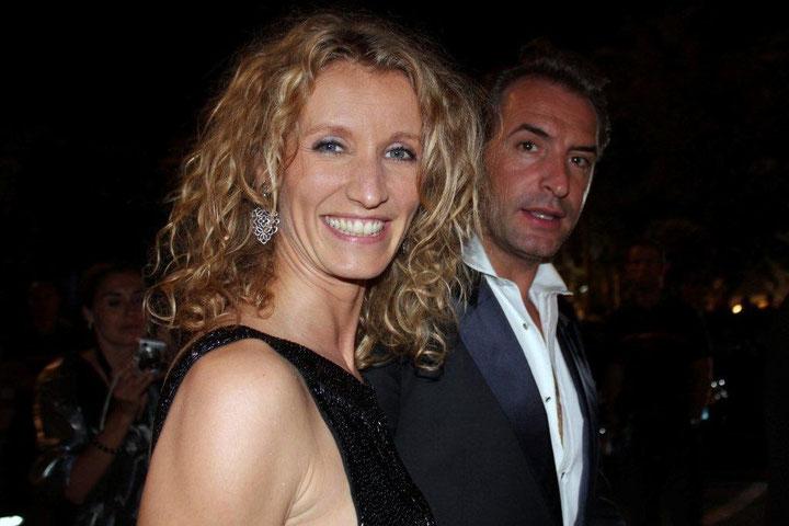 Alexandra LAMY et Jean DUJARDIN - Festival de Cannes 2011 © Anik COUBLE