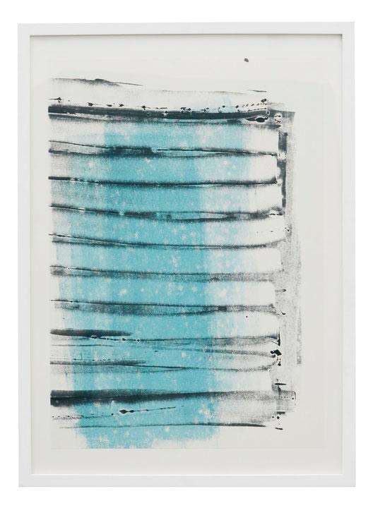 o.T., Monotypie, 63 x 47 cm, 2014