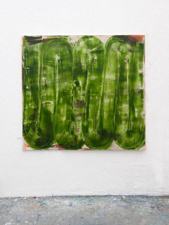 o.T., Öl auf Leinwand, 1.40 x 1.50 m, 2015