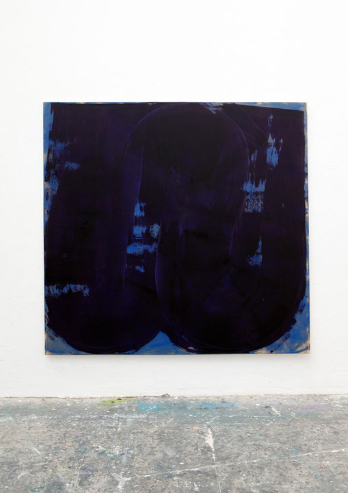 o.T., Öl auf Leinwand, 1.90 x 2.00 m, 2014