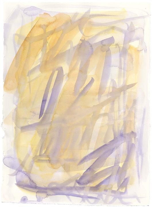 o.T., Aquarell auf Büttenpapier, 2016