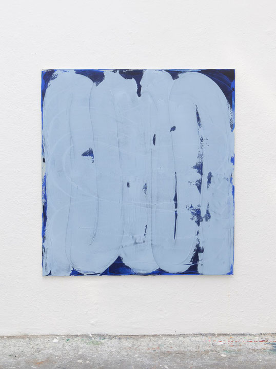 o.T., Öl auf Leinwand, 1.50 x 1.40 m, 2014
