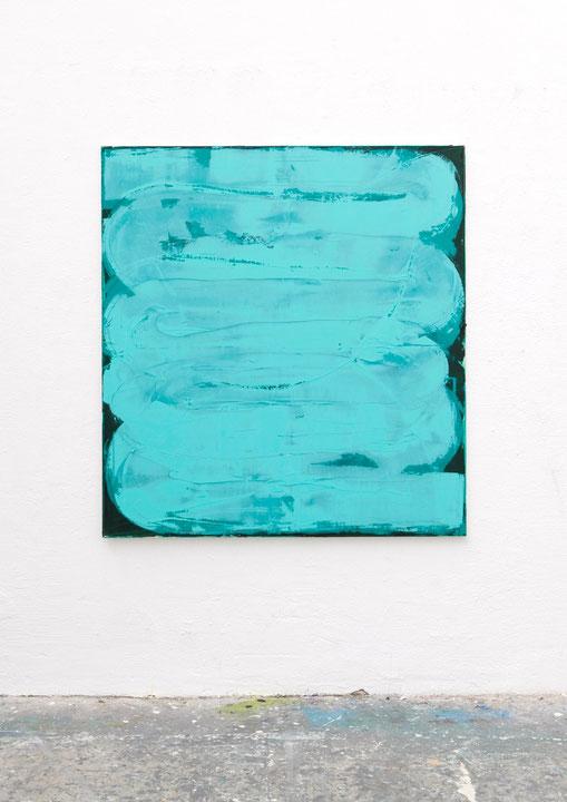 o.T., Öl auf Leinwand, 1.40 x 1.20 m, 2014