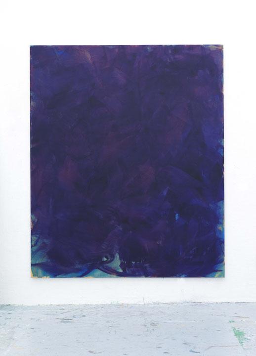 o.T.,Öl auf Leinwand, 2,40 m x 2,00 m, 2016