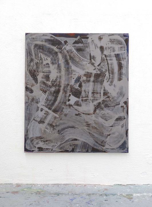 o.T.,Öl auf Leinwand, 1,40 m x 1,20 m, 2016