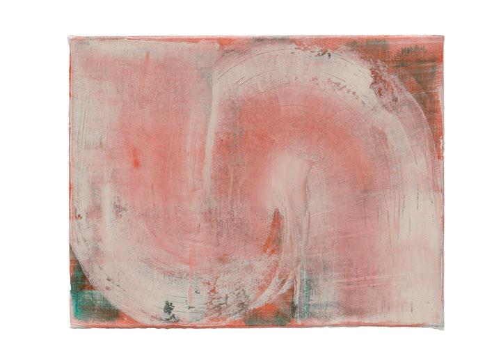 o.T., Öl auf Leinwand, 37 x 45 cm, 2014