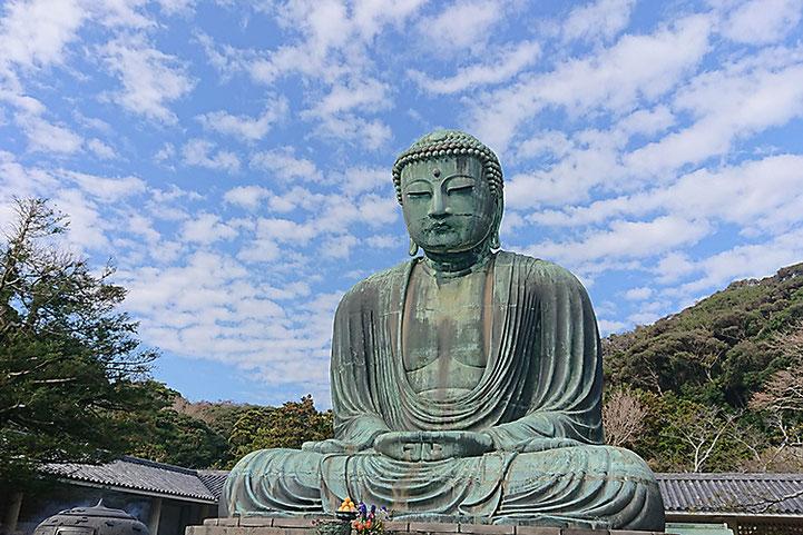 高徳院で拝観できる鎌倉で唯一の国宝仏像「鎌倉大仏」