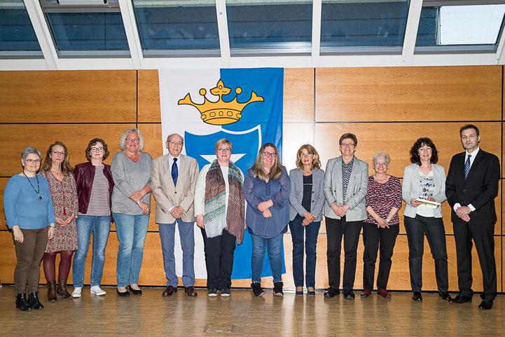 Überreichung der Verdienstmedaille der Gemeinde Kronau (Bild: LICHTfänger kronau e.V.)