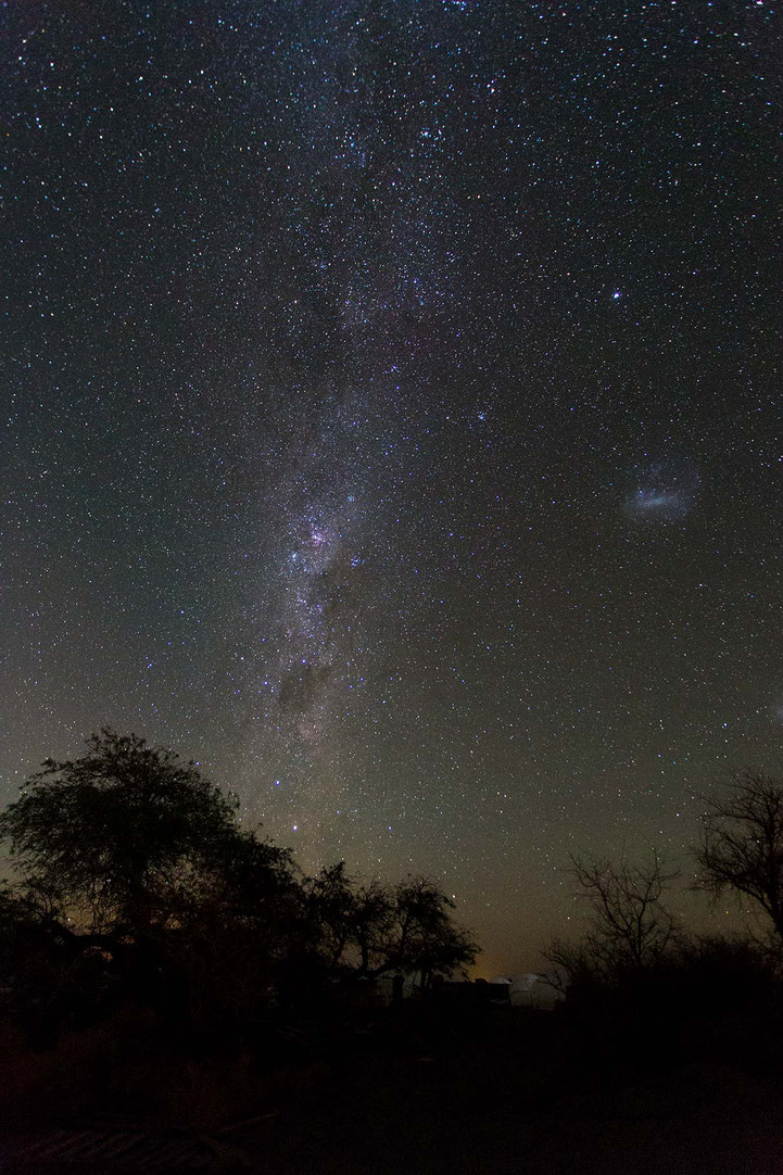 Atacama view of the night sky with thousands of stars, San Pedro, Desert, Chile, 1213x1820px
