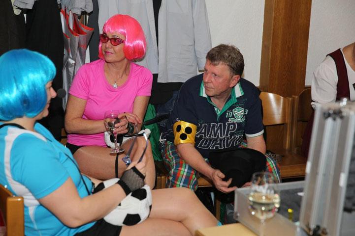 """Dynamo Steinfeld"" bei der Lagebesprechung"