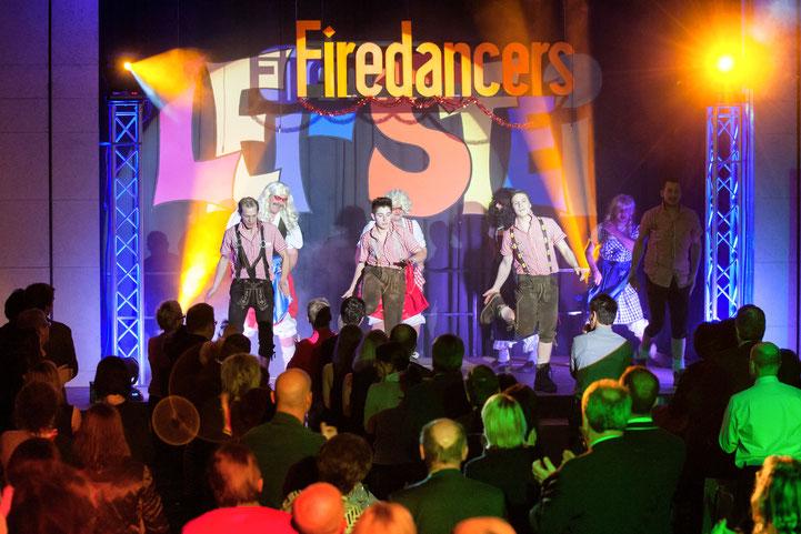 """""""Die Firedancers"""" der FF Steinfeld"""