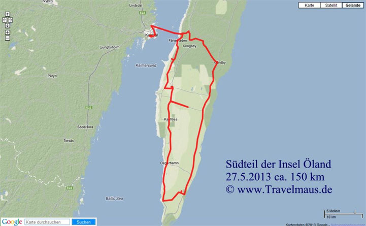 Tagestour Insel Öland-Süden
