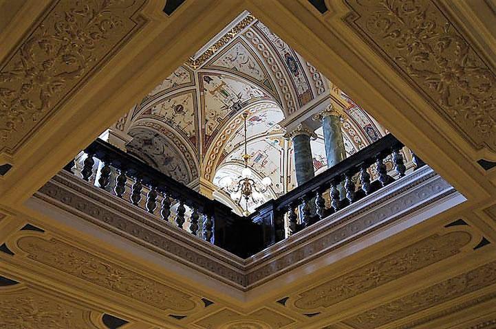 Oper, Vortrag, Architektur, Geschichte, Foyer, eropert, Lesung