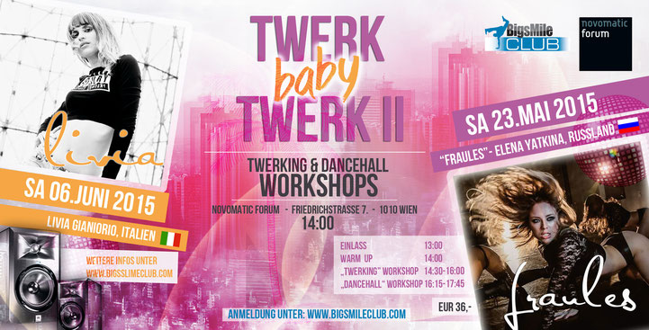 Fraules Elena Yatkina, Twerking & Dancehall Workshop