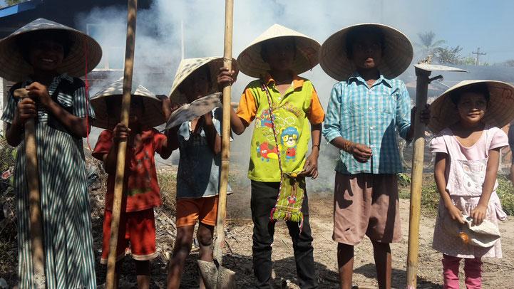 MEDITATING IN MYANMAR