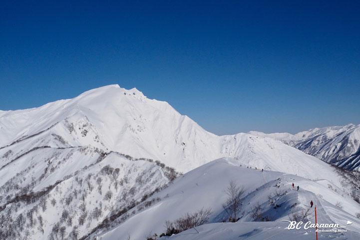 谷川岳(2018年2月14日)