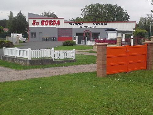 Automatisme portails portes de garage volets ets boeda - Automatisme de porte de garage ...