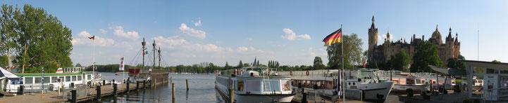 Weiße Flotte am Schweriner See