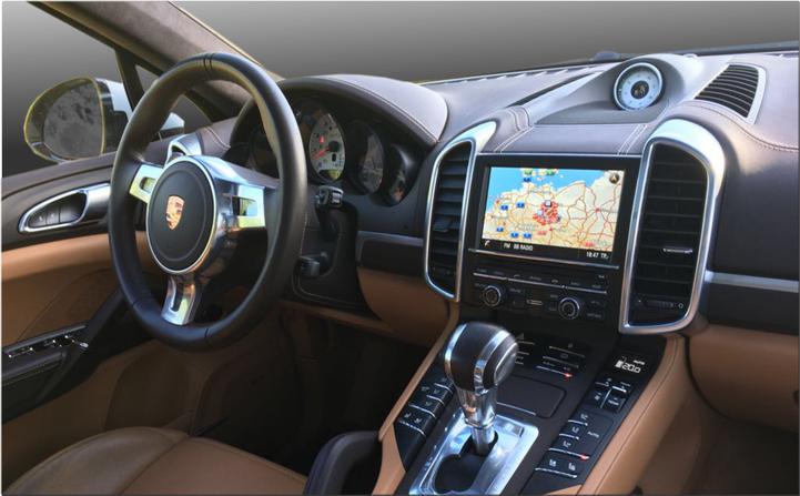 Elektronisches Fahrtenuch für Porsche