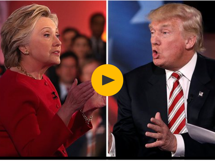 theguardian @HadleyFreeman: Presidential debate highlights: Clinton and Trump trade blows