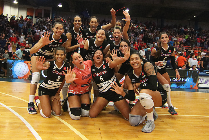 Luego de la victoria anoche sobre las Changas, a las Criollas de Caguas les separa una victoria para lograr su quinto campeonato consecutivo en la LVSF / foto por Heriberto Rosario Rosa