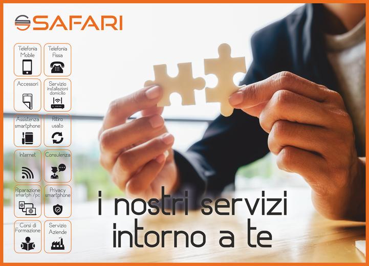 Safari srl negozi WindTre Trentino Alto Adige