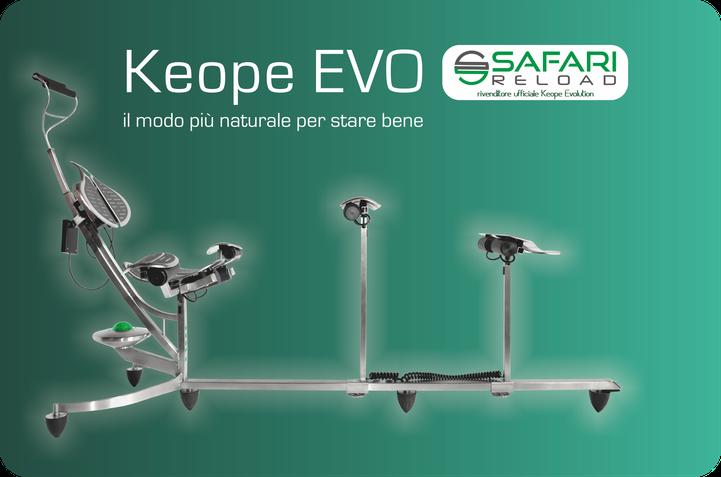 Safari reload  - rivenditore ufficiale poltrona medica Keope italia