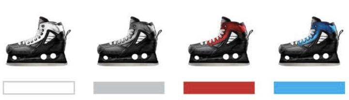 two skates ahead - WS - COMPOSITE TRUE Schlittschuhe Kufen