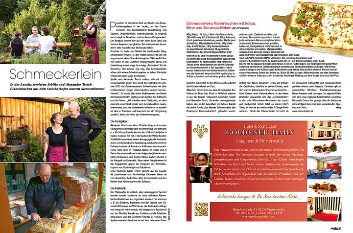 """aus """"Genießen und Reisen"""", Ausgabe 1/2017"""