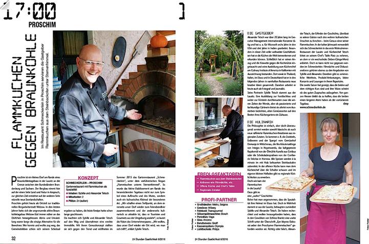 """aus """"24 Stunden Gastlichkeit"""", Ausgabe 6/2016"""