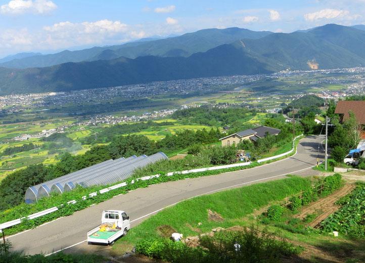 Nach Nagano gehts wieder in die Berge.