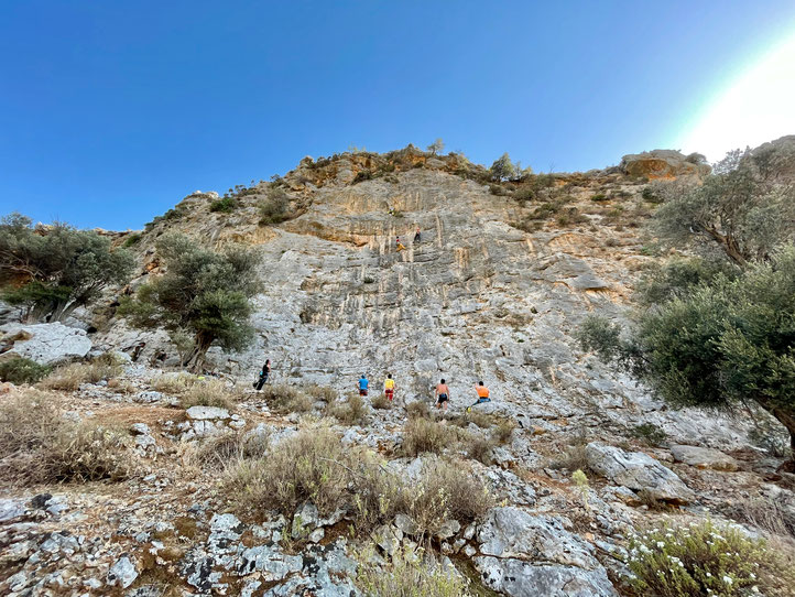 Klettern auf Kalymnos 2021