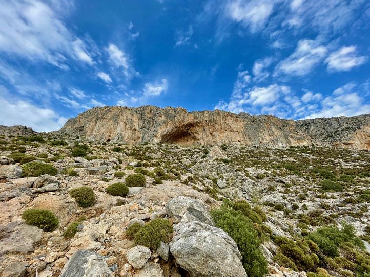 Klettern auf Kalymnos 2021, Grande Grotta