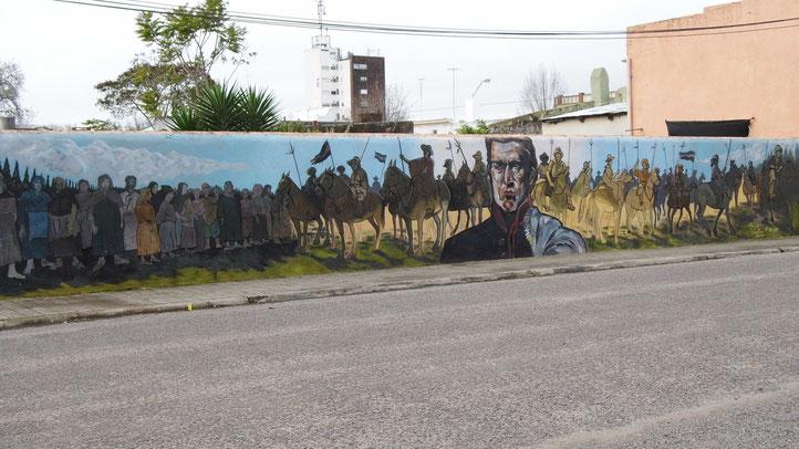 Le Général Artigas, Héros national, premier fondateur de la patrie