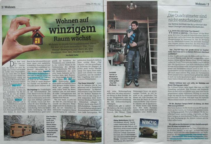 Bericht in der Kleinen Zeitung vom 24. März 2017